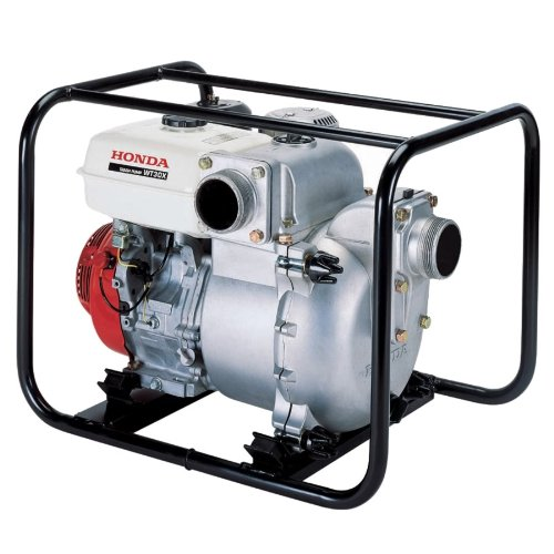 Honda WT30 Heavy Duty Trash Pump, 3