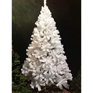 Perfect Holiday Christmas Tree, 6-Feet, PVC Crystal White 97