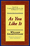 Image of As You Like It: Applause First Folio Editions (Applause Shakespeare Library Folio Texts)