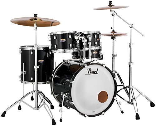 Pearl Decade Maple Shell Pack - 5pc - Black Ice Lacquer ()