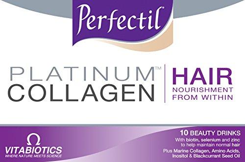 Perfectil by Vitabiotics Platinum Collagen Hair Drink 10 x 50ml