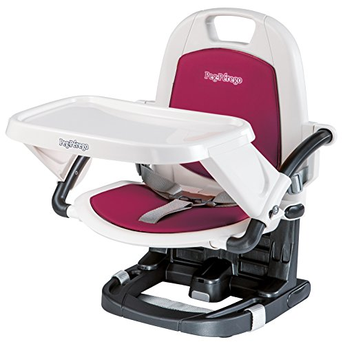Peg Perego USA Rialto Booster Seat, Berry