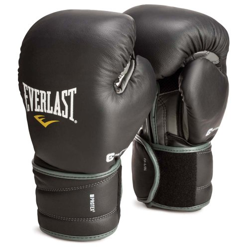 Everlast ProTex3 Hook & Loop Training Gloves 12oz ProTex3 Hook & Loop Training Gloves by Everlast