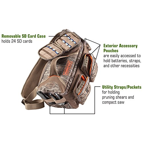 Moultrie Camera Field Bag | Holds Up To 6 Cameras | 24 SD Card Case | 3 External Pockets by Moultrie (Image #4)