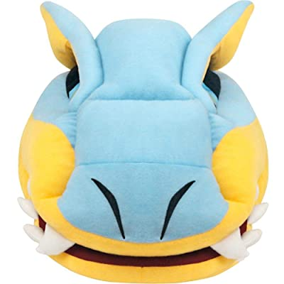 Mikucos Monster Hunter Tigrex Plush Doll Toy Pillow Nap Office Home Table Pillow: Home & Kitchen