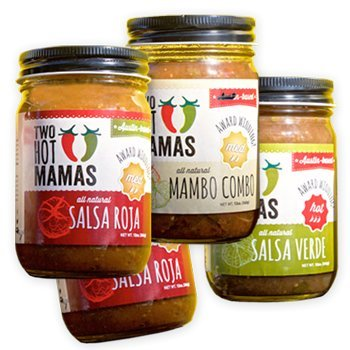 Two Hot Mamas Salsa Starter Set - Mild
