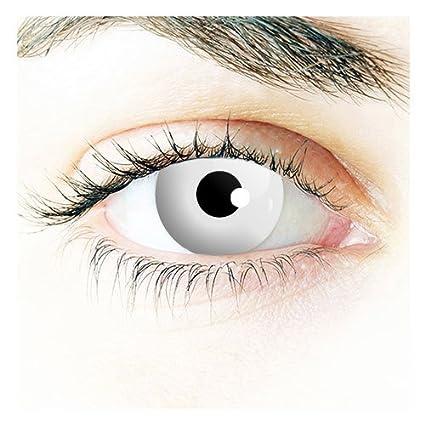 Nouveaux 1 Jour lentilles de contact Halloween (OUTS blancs) (sans  correction) ab6c23cae531