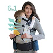 SIX-Position, 360° Ergonomic Baby & Child Carrier by LILLEbaby - The COMPLETE All Seasons (Feather Soft)