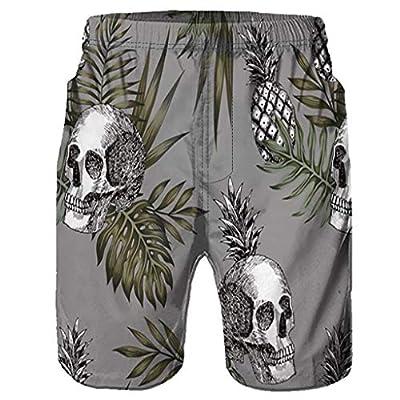FDSD Man Swimsuit Men's Casual Swim Trunks Graffiti Printed Quick Dry Mens Beach Bathing Suits Swim Board Shorts