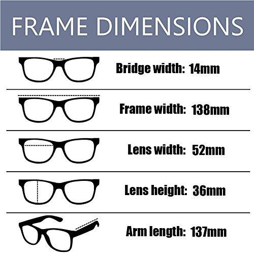 Xinvision Mujer Previniendo luz radiación Gafas Claro Hombre Computadora los Anti Arena Retro Moda Lente ojos Clásico Negra Anti azul Eyewear rZEqwtr0