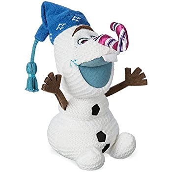 Olaf Plush - Olaf's Frozen Adventure - Small - 7 1/2'' w/ Candy Cane Nose