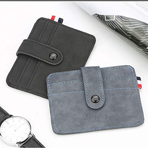 Portamonete Blu Di Portafogli Credito Carte Portamonete Ufficio Da Porta Simplelife Portafoglio Retro Uomo axpnq6H