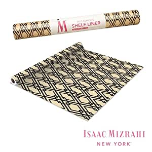 Amazon Com Isaac Mizrahi Self Adhesive Shelf Liner 30