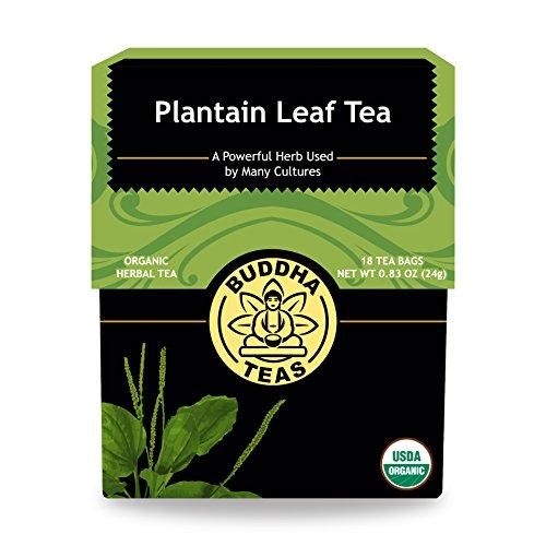 Organic Plantain Leaf Tea Caffeine Free