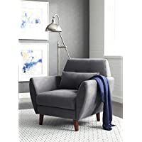 Serta Artesia Collection Arm Chair in Slate Gray