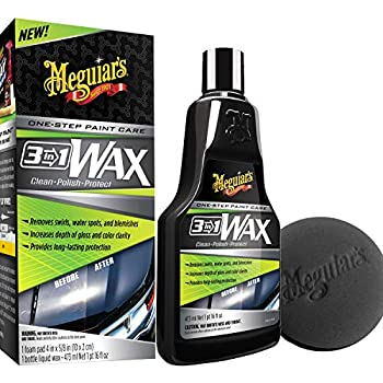 Amazon Com Meguiar S G190526 Hybrid Ceramic Wax 26 Oz