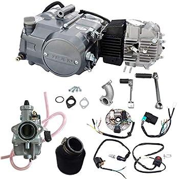 amazon com wphmoto lifan 125cc engine motor \u0026 air filter \u0026 26mm