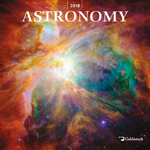 "Goldistock ""Astronomy"" Eco-friendly 2018 Large Wall Calendar - 12"" x 24"" (Open) - Thick & Sturdy Paper - Simply Amazing Images"