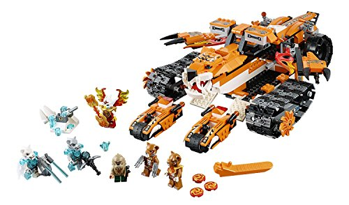 LEGO® Legends of CHIMA® Tiger's Mobile Command 712 - Chima Tiger Lego Sets