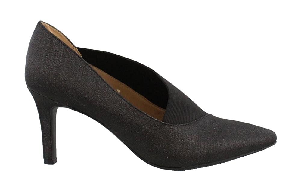 e5a9c13e1 Andrew Geller Women's, Mid Heel Shooties Black Glitter 7 M: Amazon.ca:  Shoes & Handbags