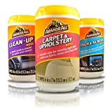 armorall dash - ArmorAll Clean-Up, Tech & Screen, Carpet & Upholstery Mini Car Care Cleaning Wipes Kit