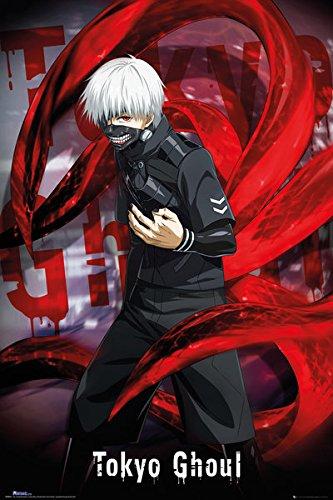 Tokyo Ghoul - Manga / Anime TV Show Poster / Print Ken Kaneki By