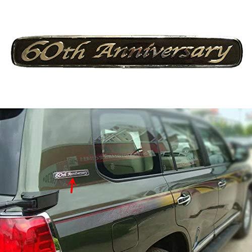 Multistory (T) For Land Cruiser LC200 FJ200 4500 5700 60th Anniversary Edition Emblem Badge