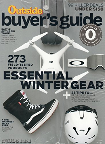Outside Magazine November 2017 + Buyer's Guide | Essential Winter Gear + Fall - Gear Magazine Outside
