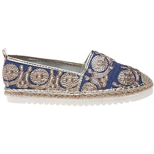 Refresh Blue Blu Donna Scarpe 64392 Tn8qx1wTOr