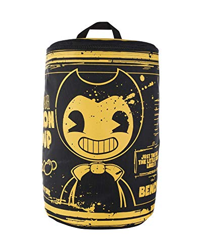 Bendy and the Ink Machine Backpack - Black Bendy Bacon Soup Can Knapsack