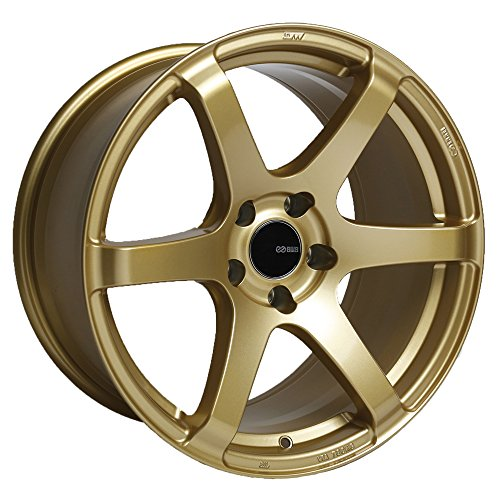 17x8 Enkei T6S (Gold) Wheels/Rims 5x100 (485-780-8045GG) (Wheels Enkei)