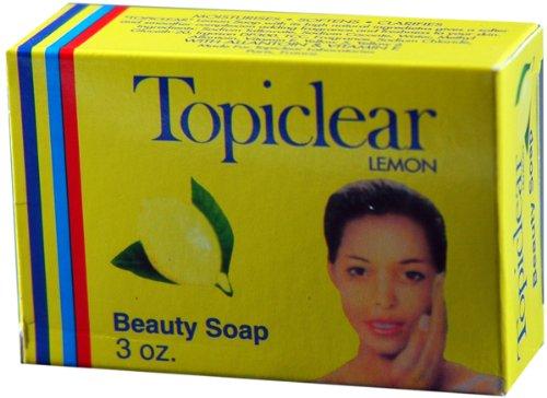 Topiclear Lemon Soap 3 oz. (Pack of 2)