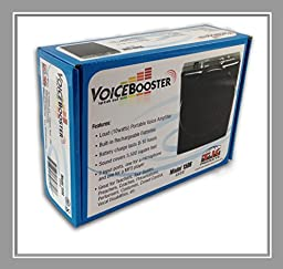 VoiceBooster Voice Amplifier 10watts Black MR1506 (Aker) by TK Products, Portable, for Teachers, Coaches, Tour Guides, Presentations, Costumes, Etc.