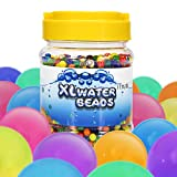 Large Water Beads, iTrunk 3000pcs Jelly Beads Growing Water Gel Balls Crystal Water Beads Rainbow Mix for Spa Refill, Kids Sensory Toys, Vases, Plant, Wedding and Home Decoration