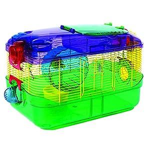 10. Kaytee CritterTrail 1-Level Multicolor Habitat