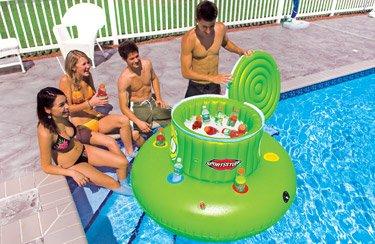 Sport Stuff Floating Cooler Super Jumbo 120 Quart
