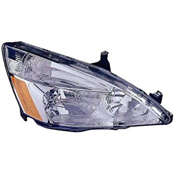 Depo 317-1131R-UF Honda Accord Passenger Side Replacement Headlight UNIT (Lens and Housing only), NSF Certified