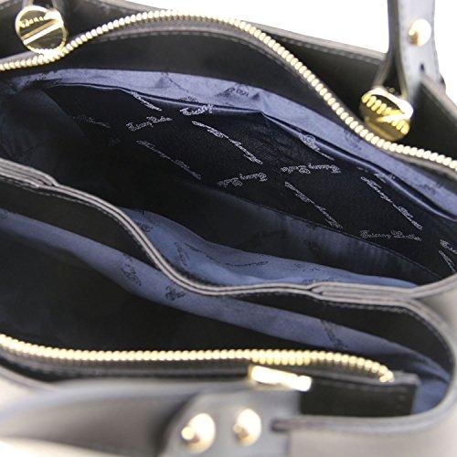 Tuscany Leather Anna Borsa a mano in pelle - TL141684 (Nero) nero
