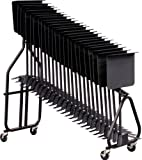Hamilton KB100 Stand Storage Cart with Heavy Duty Casters