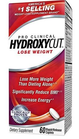 Hydroxycut Pro Clinical Weight Loss Formula 60 caps (Twin - Pro Lose Weight Clinical