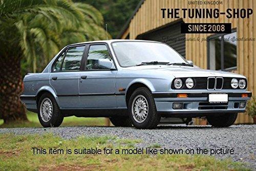 F/ür BMW E30/1982 1991/manuelle schwarz Leder Gear /& Handbremsmanschette M Power N/ähte Edition