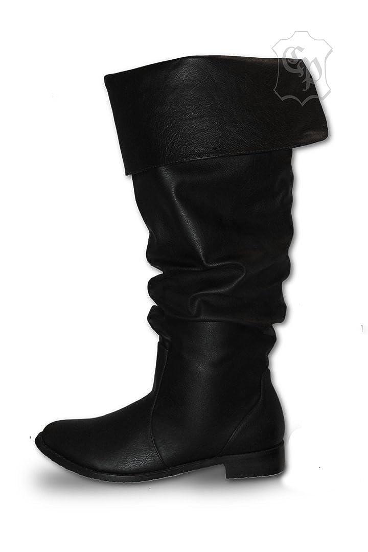 CP-Schuhe Mittelalter Schuhe Stiefel Piratenstiefel Käptn Rotbart