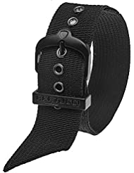 Bertucci DX3 #73 Black Nylon Watch Band Fits A-4T