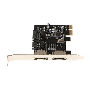 SM SunniMix 2Port SATA 6G PCI Express Tarjeta De Adaptador ...