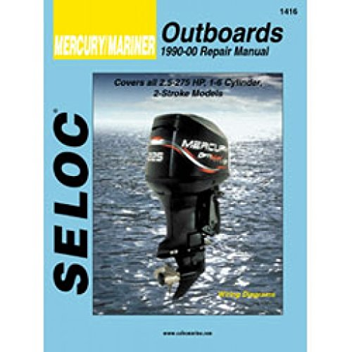 Mercury Outboard Service Repair Manual (Mercury/Mariner Outboards, All Engines 1990-2000 (Seloc Marine Manuals))