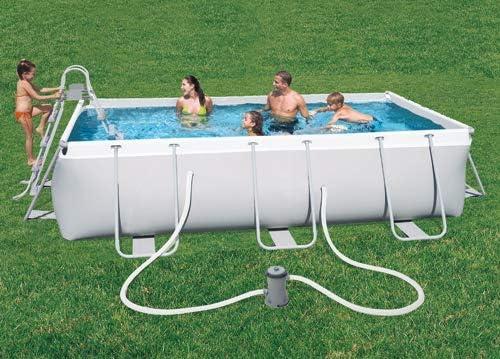 pebshop piscina Rectangular, Rígida L. 404 X P. 201 X altura cm ...