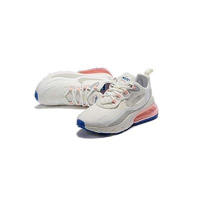 pretty nice 2a84f 5a717 Amazon.com | Nike Air Max 270 React, Summit White, Mens ...