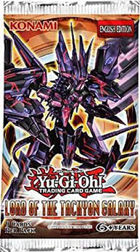 YuGiOh Lord of the Tachyon Galaxy New and Sealed YuGiOh Booster Packs x3