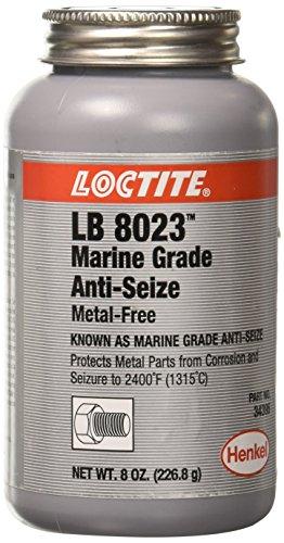 Loctite 299175 Paste Anti-Seize Lubricant, -20 to 2400 degrees F Temperature Range, 8 oz Can ()