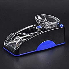 Features:              User-friendly Design,can adjust the density of tobacco.       Easy to use,you will be a great cigarette operator,joy your work.       Antiskid base,ergonomics design.       With tailing collection box,ea...